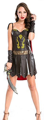 EOZY Women Ancient Greek Female Warrior Outfits Halloween Costume (Ancient Greek Outfits)