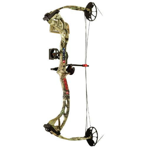 PSE Right Hand RTS Package Rally Bow, 70-Pound, Mossy Oak Break Up Infinity