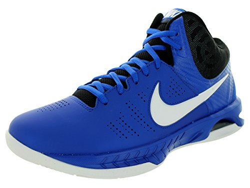 Nike Men's Air Visi Pro VI Game Royal/White/Black/Pht Bl Basketball Shoe 12 Men US (Oasis Shoes Men compare prices)