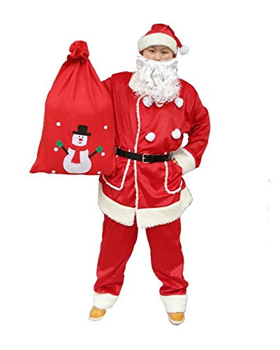 [Christmas Clothing of Cashmere Clothes, Pants, Plush Backpack, Boots (70*50, backpack)] (Costume Top Hats Brisbane)