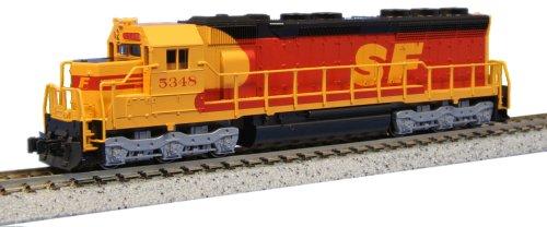 "Kato Usa Model Train Products Emd Sd45 Spsf #5348 ""Kodachrome"" N Scale Train"