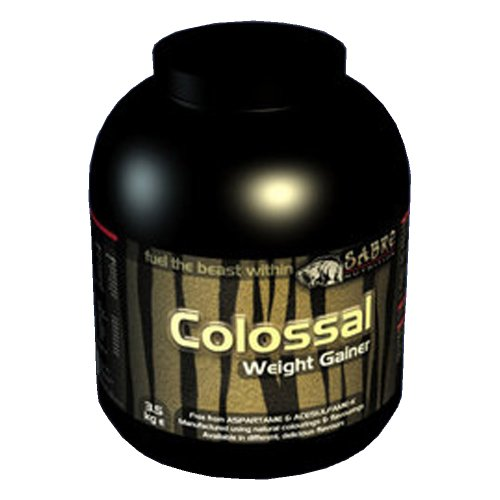 Weight Gain Powder Strawberry 3.5kg - High Protein + High Calories - Low Fat with Added Glutamine + L-Carnitine - Gainer