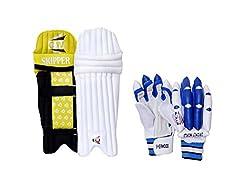 CW Junior Combo of Batting Pad & Glove