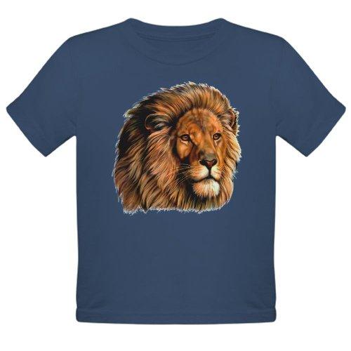 Artsmith, Inc. Organic Toddler T-Shirt Dark Lion Artwork - Galaxy, 4T