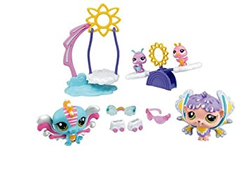 Littlest PetShop - 51894 - Poupée et Mini-Poupée - Le Jardin de l'arc-en-Ciel