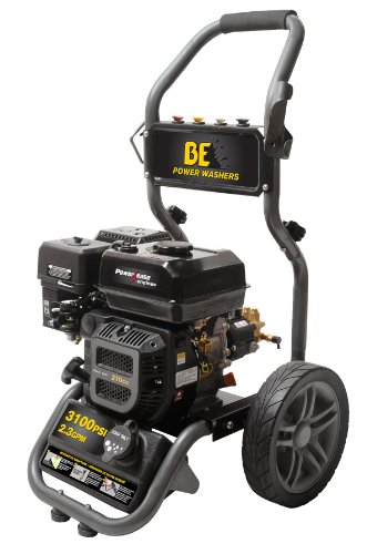 Be Pressure Be317Rx Gas Powered Pressure Washer, R210, 3100Psi, 2.3 Gpm front-413111
