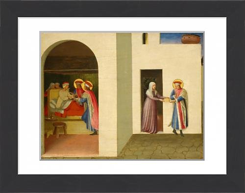 framed-print-of-fra-angelico-the-healing-of-palladia-by-saint-cosmas-and-saint-damian