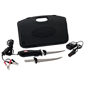 Berkley Deluxe Electric Fillet Knife Combo 12 Volt New