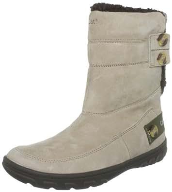 Caterpillar Women's Shayna Fur Trimmed Boots, Tan, 3 UK