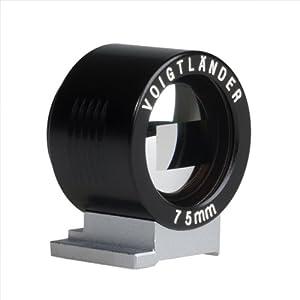 Amazon.com : Voigtlander Viewfinder f/ 75mm Black : Camera