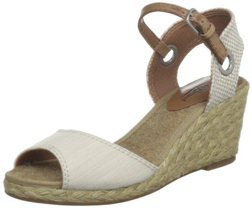 Lucky Women'S Kyndra Wedge Sandal,Natural,5 M Us