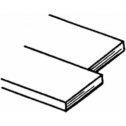 """Brass Strips 12"""", .032 X 3/4"""", Carded - 1"""
