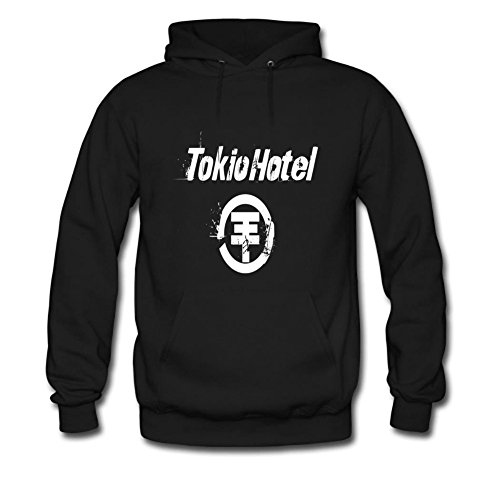 Diy Tokio Hotel Men's Long Sleeve Classic Hoody YHLN L Black (Tokio Hotel Book compare prices)