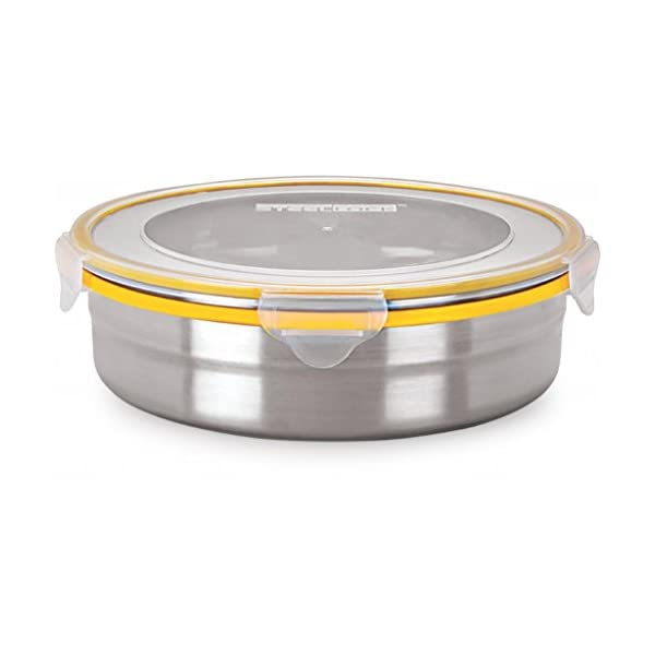 Dealtz SL-1601 Airtight Storage / Food Lock Steel Containers 1700 ml at Sears.com