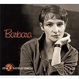 echange, troc Barbara, Gérard Depardieu - Les 50 Plus Belles Chansons : Barbara (Coffret 3 CD)