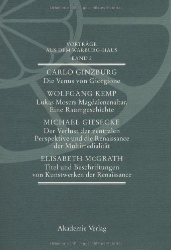 Vorträge aus dem Warburg-Haus: Band 2