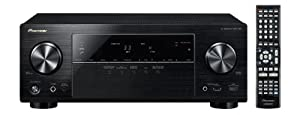 Pioneer VSX-528-K 5.1 AV-Receiver (Airplay, Steuerung via App, DLNA, HTC Connect, MHL, vTuner Webradio, Gappless Wiedergabe, 3D, 4K Ultra HD Pass-Through) schwarz
