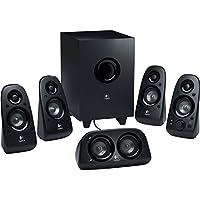 Logitech Z506 6-Piece 5.1 Channel 101W Surround Sound Multimedia Speaker System Certified Refurbished