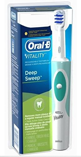 Oral-B Vitality Deep Sweep Rechargeable Electric Toothbrush Powered By Braun
