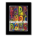 HAPPY MONDAYS - Greatest Hits Matted Mini Poster - 28.5x21cm