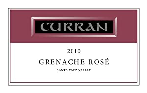 2010 Curran Grenache Rosé, Santa Ynez Valley 750 mL
