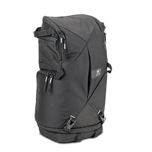 Kata KT DL-3N1-10 Sac sling pour reflex monté avec zoom standard 1-2 optiques supplémentaires Flash Effets personnels Accessoires Noir