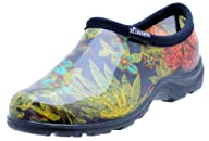 """Sloggers  Women's Rain and Garden Shoe with """"All-Day-Comfort"""" Insole, Midsummer Black Print – Wo's…"""