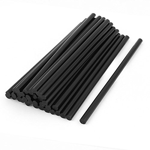 35-Pcs-7mm-Diameter-190mm-Length-Solder-Iron-Black-Hot-Melt-Glue-Stick