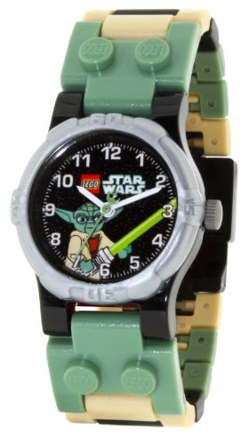LEGO Kids' 9002076 Star Wars Yoda Watch