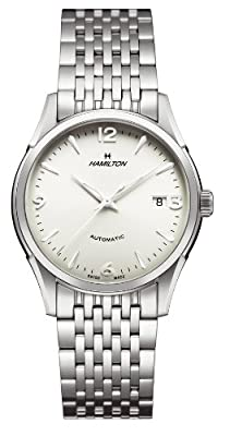 Hamilton Men's H38415181 Timeless Class Silver Dial Watch by Hamilton