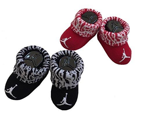 Michael Jordan Booties 0-6 Months 2 Pairs