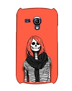 BYC Back Cover for Samsung I8200 Galaxy S III mini (MATTE)