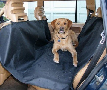 Source Heavy Duty Rear Back Seat Waterproof Quilted Pet Sleeper Hammock Seat Cover