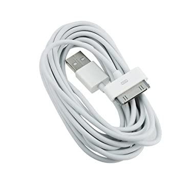 USB Sync 3m 10 Ft Data Charging Charger Cable Cord for Iphone 4 4s 4g 3gs Ipod