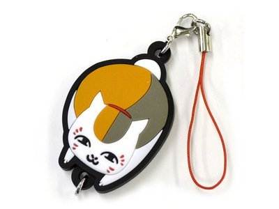 Natsume's Book of Friends Nyanko Sensei rubber strap vol.2 (staring) (japan import)