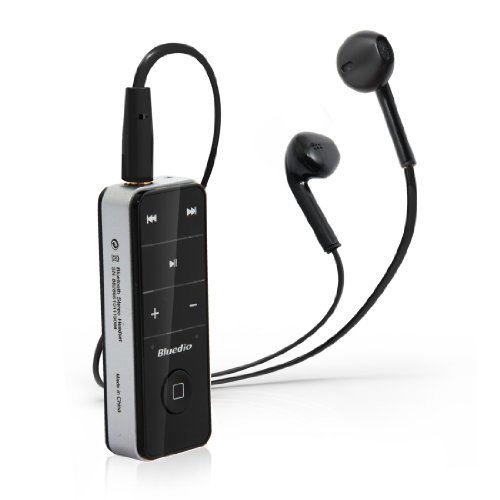 Bluedio I4S Bluetooth3.0 Wireless Earphone Smartphone Corresponding Short Black (Japan Import)