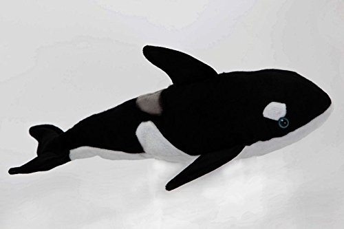 "Killer Whale 10"" Stuffed Plush Animal - Cabin Critters Sea Life Collection"