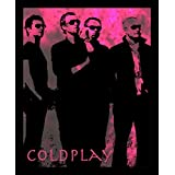 10 Am Coldplay Framed Wall Art (Pink) (With Glass)
