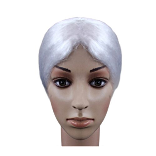 Halloween Costume Ideas Granny White Wigs Party Cosply