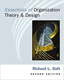 Organization theory and design by richard l daft 10th edition download free