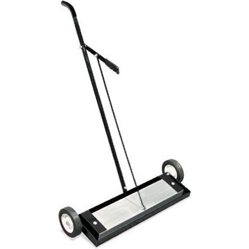Magnetic Sweeper Heavy Duty Push-Type with Release, 24