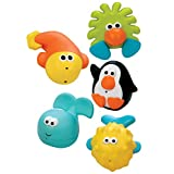 Sassy Bathtime Pals Squirt and Float Toys ~ Sassy