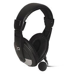Live Tech HEADPHONE MIC BLACK 16