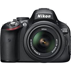 Nikon D5100 16.2MP CMOS Digital SLR Camera with 18-55mm f/3.5-5.6 AF-S DX VR ...