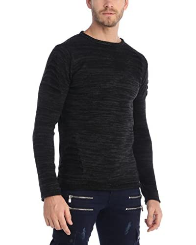RNT23 Pullover schwarz