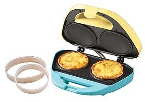 Nostalgia Electrics Pie-200 2-Pie Electric Pie Bakery