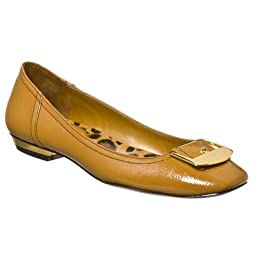Product Image Women's Merona® Collection Rayna Buckle Flats - Camel
