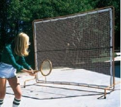 Buy Courtmaster Deluxe Tennis Rebound Net and Frame, 9'W x 7'H by Court Equipment
