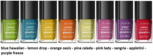 CoverGirl-Outlast-Stay-Brilliant-Nail-Gloss-Color-Polish-8-Piece-Mini-Collection