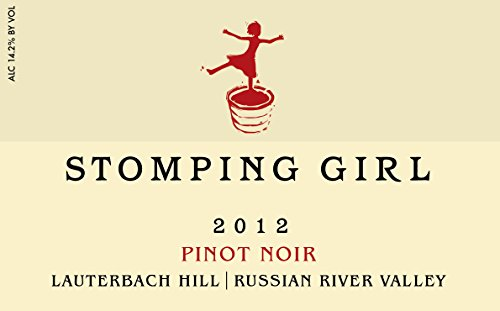 2012 Stomping Girl Pinot Noir Lauterbach Hill Russian River 750 Ml